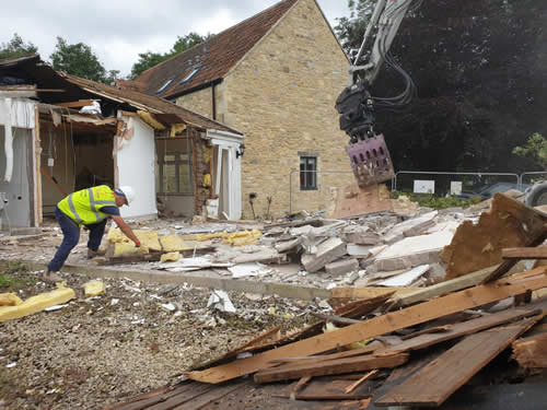 Bens Demolition Division photo Colerne