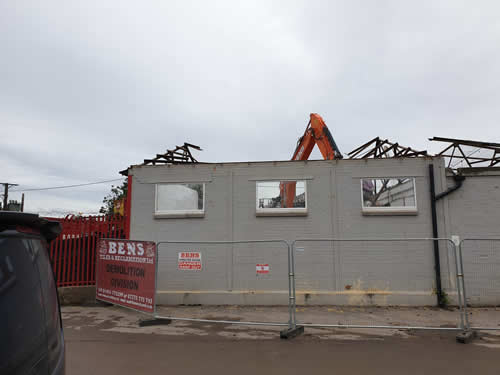 Bens Demolition Division photo Bateman Skip Hire