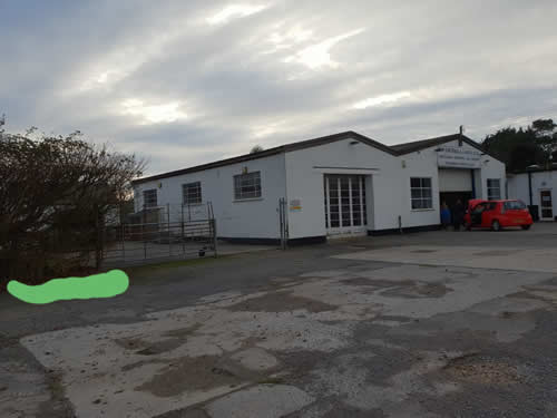 Bens Demolition Division photo Weare Garage, Axbridge