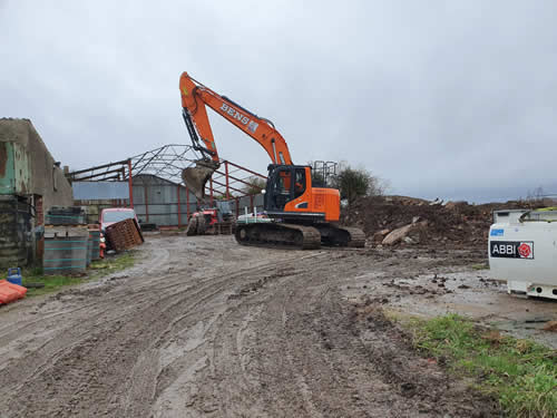 Bens Demolition Division job Grove Farm for Prestige Developments photo number 5