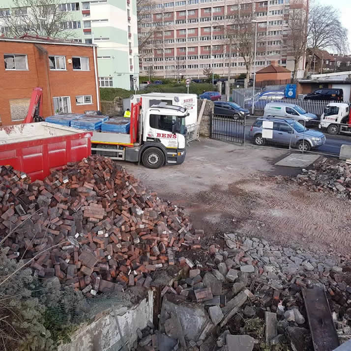 Site Clearance at Bens Demolition